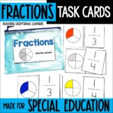 Fractions Task Card Set