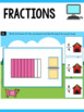 Fractions Task Cards - Fractions First Grade