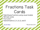Fractions Task Cards - Identifying Fractions
