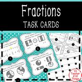 Fractions Task Cards SOL 3.2 3.5