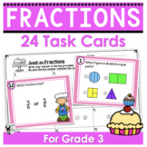 Fractions Task Cards (Scoot Game)