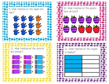 Fraction Task Cards-Scoot