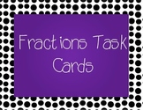 Fraction Task Cards-Scoot