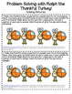 Fractions Task Cards (Thanksgiving Theme)