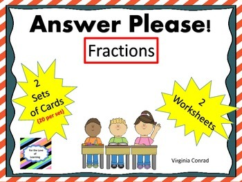 Fractions:  Task Cards and More