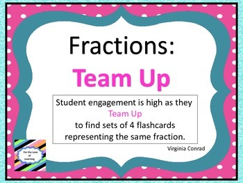 Fractions:  Team Up