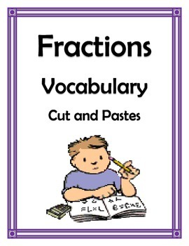 FRACTION VOCABULARY