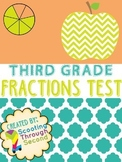 Fractions Assessment (3rd grade) Test or Quiz