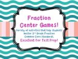 Fractions Common Core Test Prep 5 Center Games Equivalent, Sets, Number Line