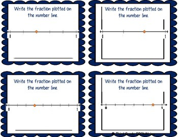 Fractions Task Cards: Test Prep Pack