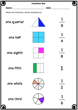 Fractions Tests