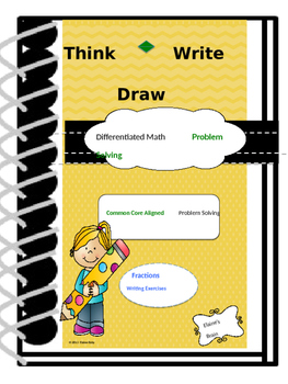 Fractions Think Write Draw