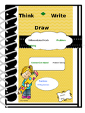 Fractions Think Write Draw by Elaine's Brain