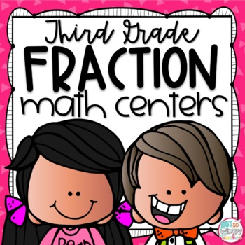 Fractions Third Grade Math Centers