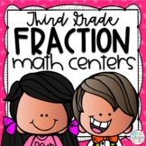 Fractions Third Grade Math Centers