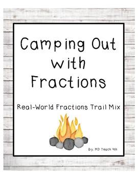 Fractions Trail Mix activity