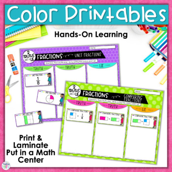 Fractions Activity |Two Truths and a Lie|