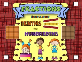 Fractions Task Cards Using Tenths and Hundredths