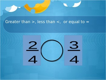 Fraction Comparison and Equivalence Unit
