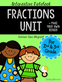 Third Grade Interactive Fractions Unit