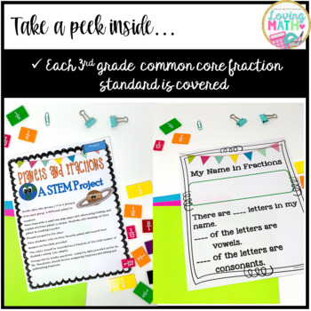3rd Grade Fractions Unit : Lessons Activities and Games