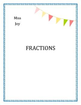 Fractions Unit