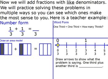 Fractions Unit 4