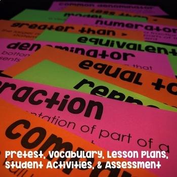 Fractions Unit with Lesson Plans