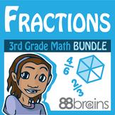 Fractions Bundle - Digital & Printable | Distance Learning