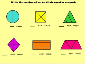 Fractions Unit  Flipchart Packet