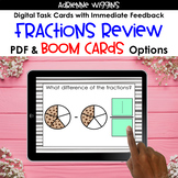 Fractions Unit Review Task Cards