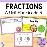 Fractions Unit for Grade 3 (Ontario Curriculum)