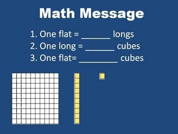 Fractions Using Base-10 Blocks