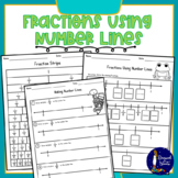 Fractions Using Number Lines