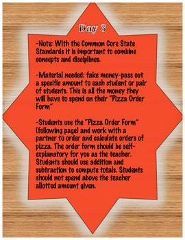 Fractions Using Pizza (and other subjects too)