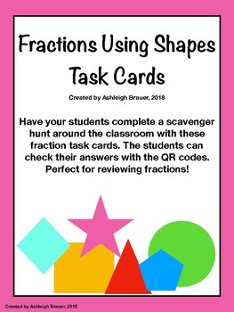 Fractions Using Shapes