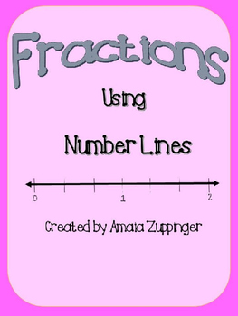 Fractions Using a Number Line!