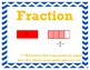 Fractions Vocabulary My Math 3rd Grade