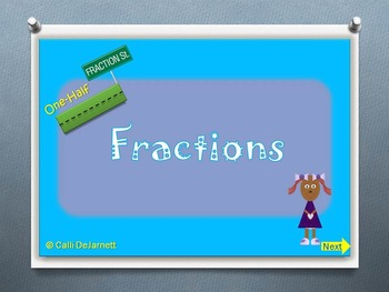 Fractions Vocabulary and Practice Questions PowerPoint