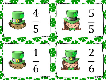 Fraction War: St. Patrick's Day