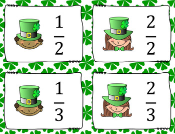 Fraction War: St. Patrick's Day