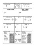 Fractions Weekly Practice