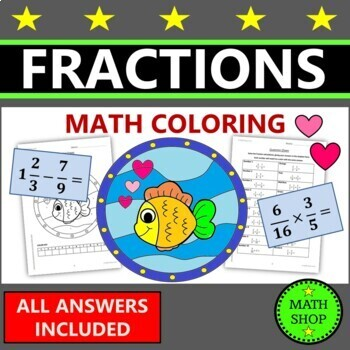 Fractions Coloring
