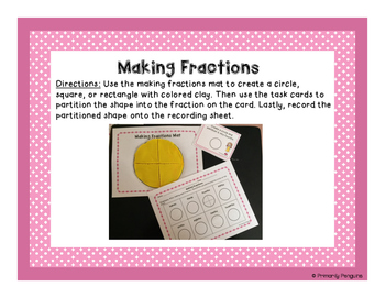 Fractions With Clay