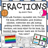 Fractions, Word Problems, Equivalent Sets & More!