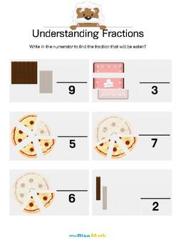Math Workbook - Fractions - 3rd Grade