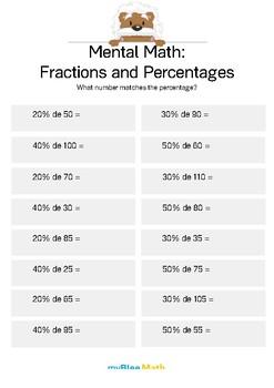 Math Workbook - Fractions - 6th Grade