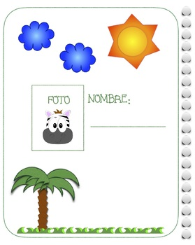 Fractions Workbook/ Fracciones SPANISH ONLY