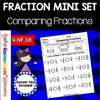 Fractions Mini Set: Comparing Fractions