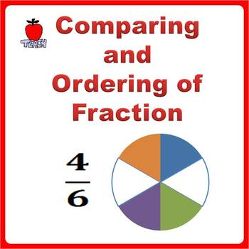 Fractions Worksheets 3rd Grade 4th Grade Comparing And Ordering
